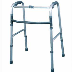 Este un dispozitiv medical ortopedic, pentru sustinerea echilibrului in timpul deplasarii, asezarii sau ridicarii, util atat in interiorul cat si in exteriorul locuintei. Asigura un suport maxim persoanelor cu dizabilitati locomotorii temporale sau permanente, persoanelor aflate in faza de recuperare ca urmare a unor interventii chirurgicale, persoanelor varstnice, cu conditie fizica slaba, echilibru precar. Se poate utiliza atat in varianta fixa, cu ridicarea intregii greutati a cadrului pentru deplasare ,simultan , cu ambele maini, sau se poate folosi prin ridicarea si impingerea alternativa spre inainte, a fiecarei parti laterale a cadrului, concomitent cu piciorul utilizatorului.