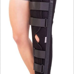 Orteză de genunchi fixă (45-55-65-75 cm)