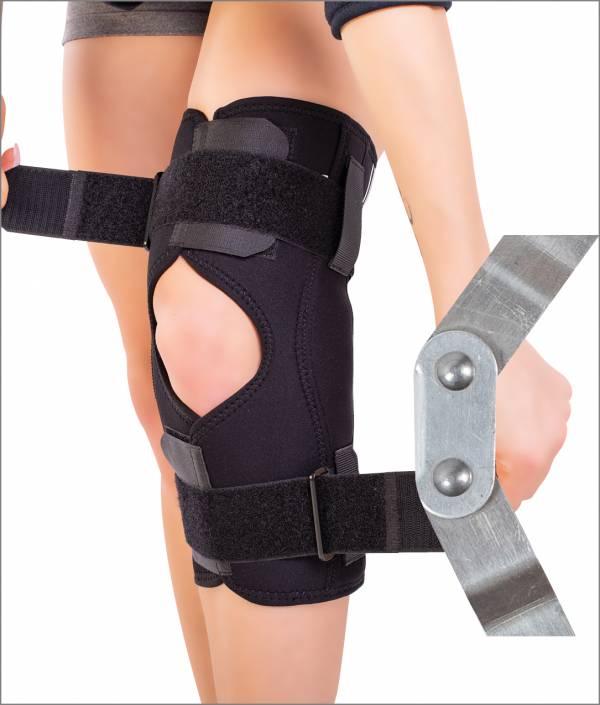 Orteză de genunchi mobilă cu articulaţii laterale - 1