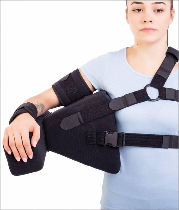 Orteză pentru abducţia braţului la 45°/60°